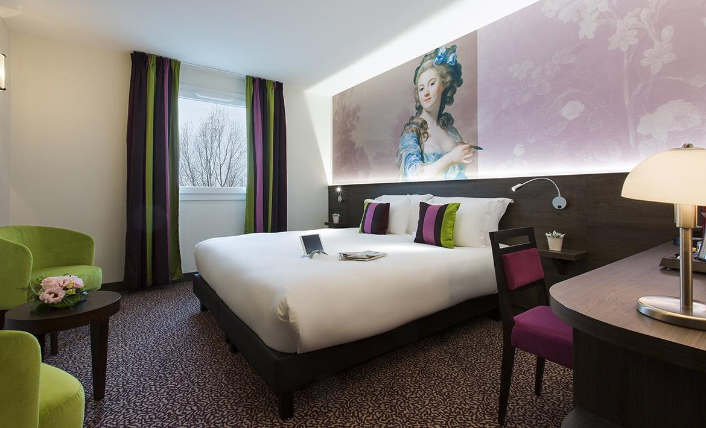 Comfort Room Double Twin Hotel Roi Soleil Strasbourg Prestige